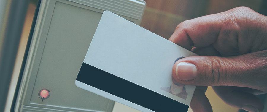 Opmaken van PVC kaarten